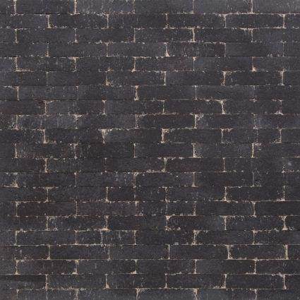 Excluton - Waalformaat Getrommeld - 20x5x7cm - Nero