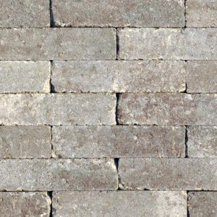 Excluton - Waalformaat Getrommeld - 20x5x7cm - Grigio