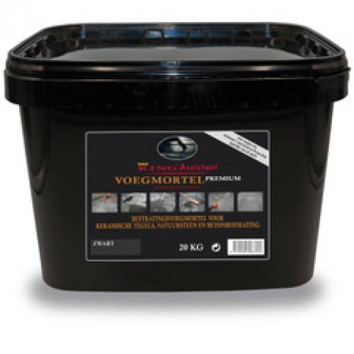 Excluton - King-Fix voegmiddel premium ( 20kg per emmer) - zwart
