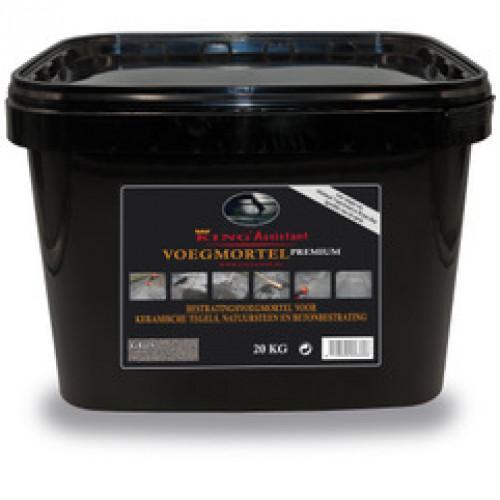 Excluton - King-Fix voegmiddel premium ( 20kg per emmer) - grijs