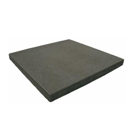 Kijlstra-Betontegel zonder facet - 50x50x4cm - Antraciet